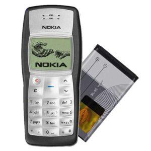 Nokia 1100 zamena baterije BL-5C