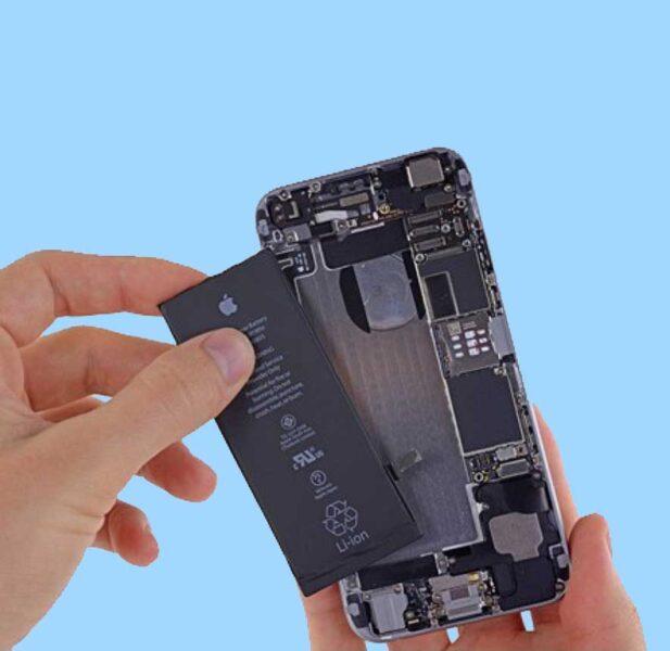 zamena baterije na telefonu